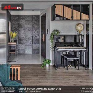 sàn gỗ pergo Domestic extra 2136
