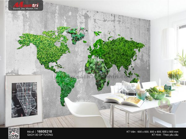 Gạch 3D ốp tường mã 16608218