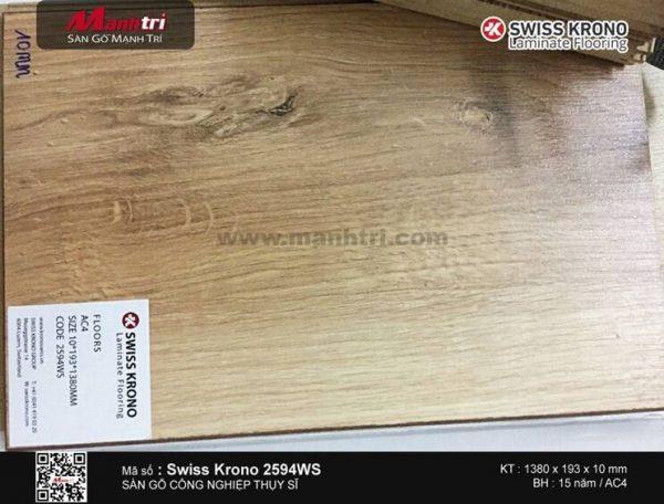 Sàn gỗ Swiss Krono 2594WS