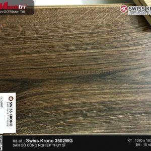 Sàn gỗ Swiss Krono 3502WG