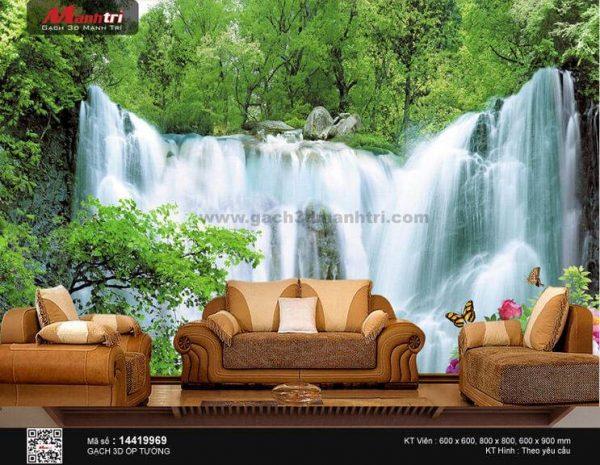 Gạch 3D Suối Thác Đá Mạnh Trí 14419969
