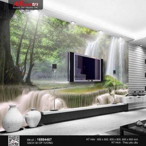 Gạch 3D Suối Thác Đá Mạnh Trí 16884467