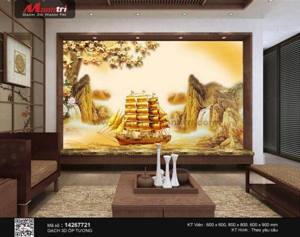 Gạch 3D Thuận Buồm Xuôi Gió Mạnh Trí 14267721