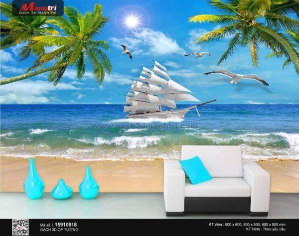 Gạch 3D Thuận Buồm Xuôi Gió Mạnh Trí 15910918