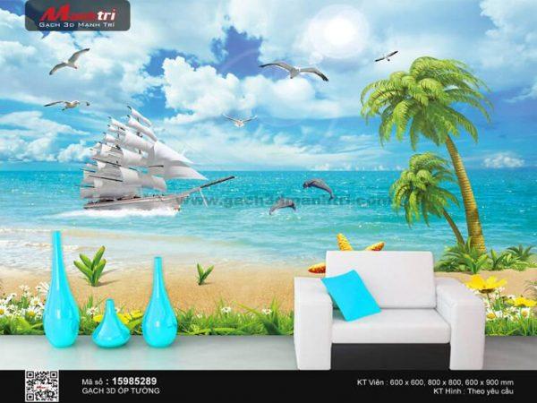 Gạch 3D Thuận Buồm Xuôi Gió Mạnh Trí 15985289