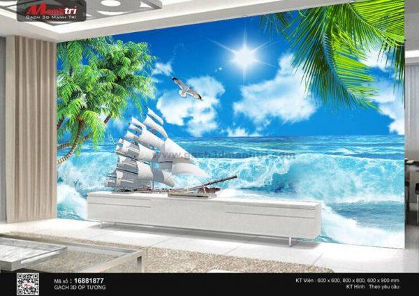 Gạch 3D Thuận Buồm Xuôi Gió Mạnh Trí 16881877