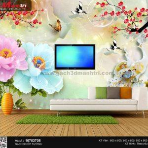 Gạch 3D Chim Công Mạnh Trí 16753708