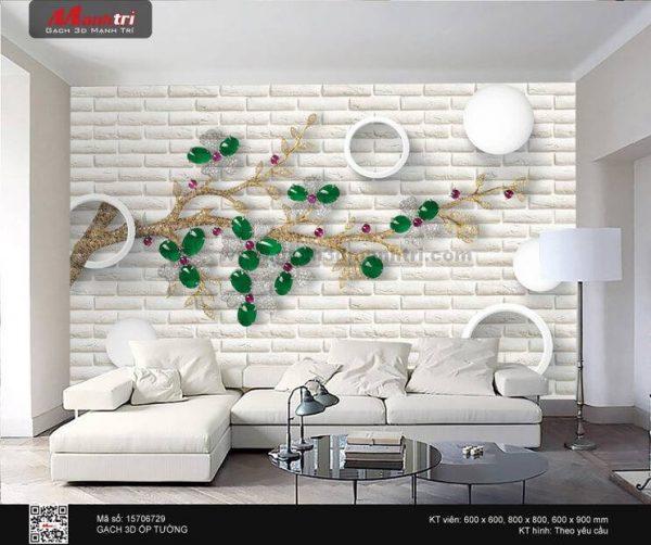 Gạch 3D Hoa Trang Sức Mạnh Trí 15706729