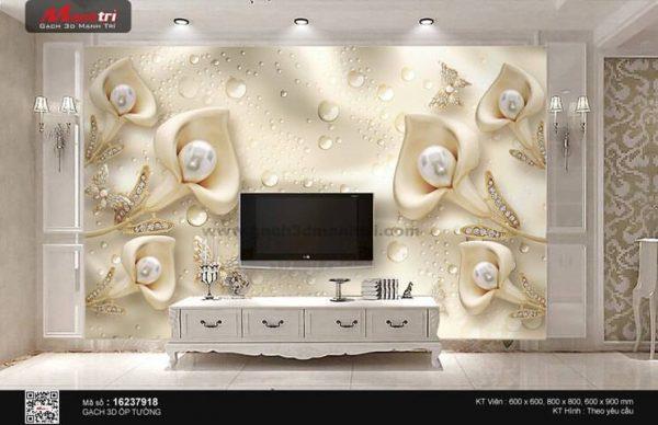 Gạch 3D Hoa Trang Sức Mạnh Trí 16237918