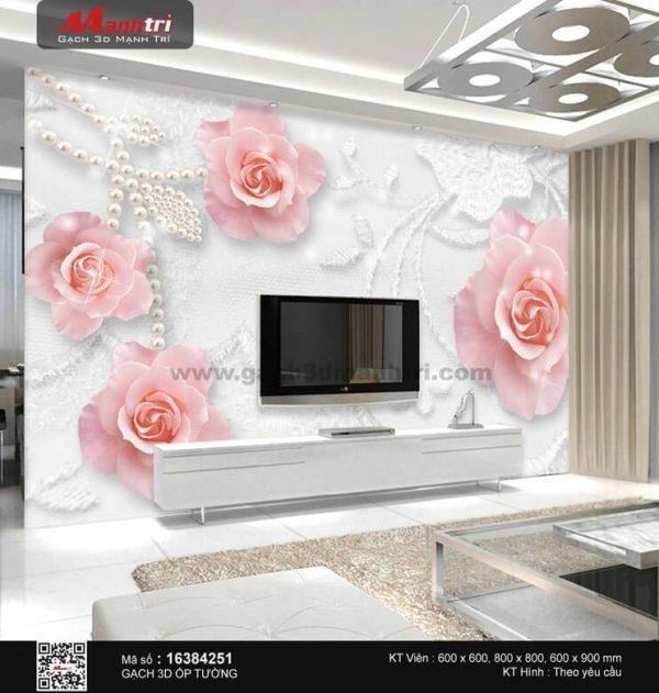 Gạch 3D Hoa Trang Sức Mạnh Trí 16384251