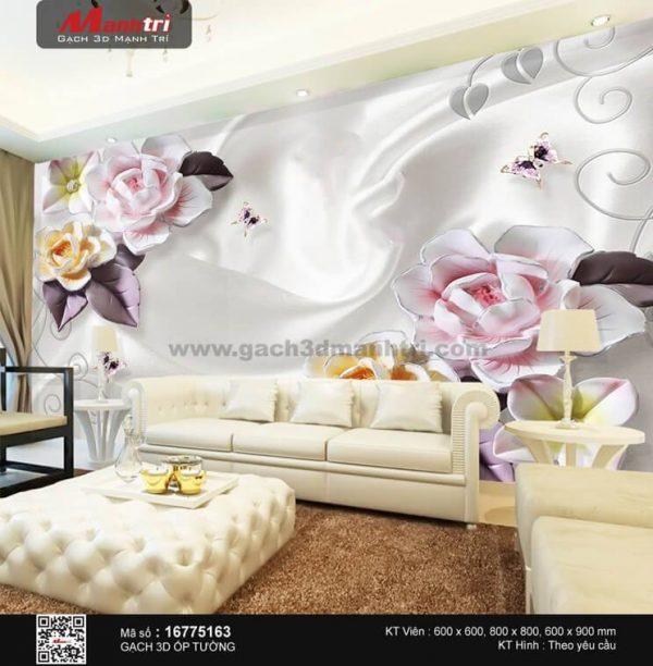 Gạch 3D Hoa Trang Sức Mạnh Trí 16775163