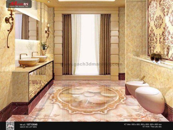Gạch 3D Sàn Ngọc Mạnh Trí 13713540