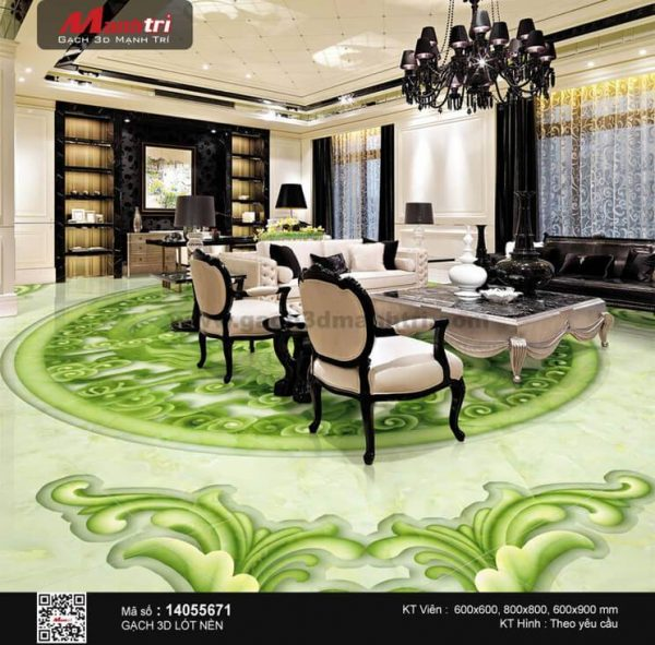 Gạch 3D Sàn Ngọc Mạnh Trí 14055671