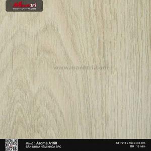 Sàn nhựa hèm khóa Aroma SPC A158