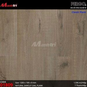 Classic plank 01809 pergo