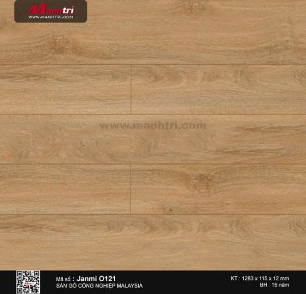 Sàn gỗ Janmi O121-12mm