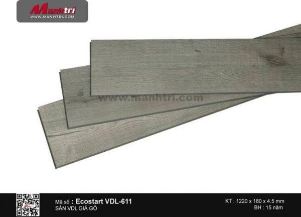 Sàn nhựa Ecostart VDL 611