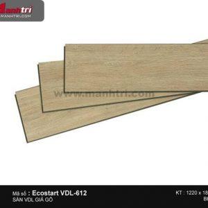 sàn nhựa Ecostart VDL 612