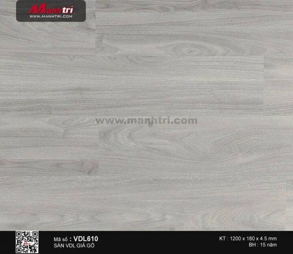 Sàn nhựa giả gỗ Smartwood VDL610