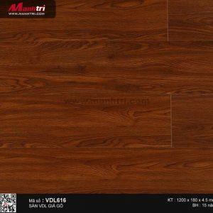 Sàn nhựa giả gỗ Smartwood VDL616