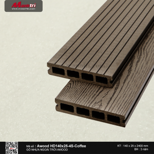 gỗ nhựa HD140x25x2200mm
