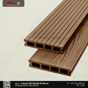 sàn gỗ Awood HD140 x 25 4S Wood