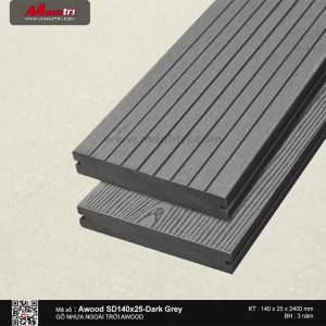 Awood SD 140 x 25 Dark Grey