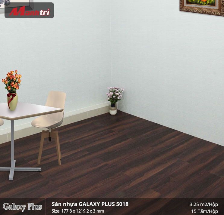 sàn nhựa Galaxy Plus 5018