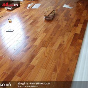 sàn gỗ gõ đỏ 450 2