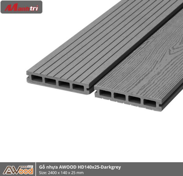 Awood HD140x25-4S-Dark Grey