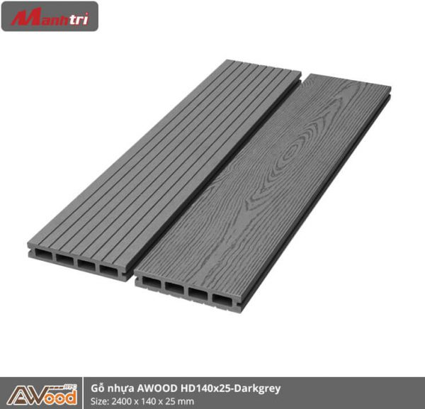 Awood HD140x25-4S-Dark Grey hình 1