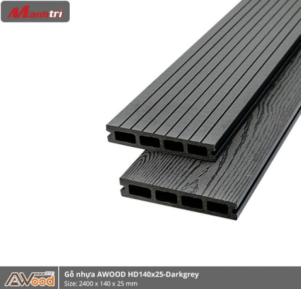 Awood HD140 x 25 4S Dark Grey