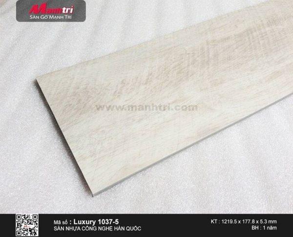 Sàn nhựa hèm khóa Luxury 1037-5