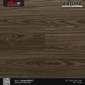 Sàn nhựa Aroma mã 6014-7