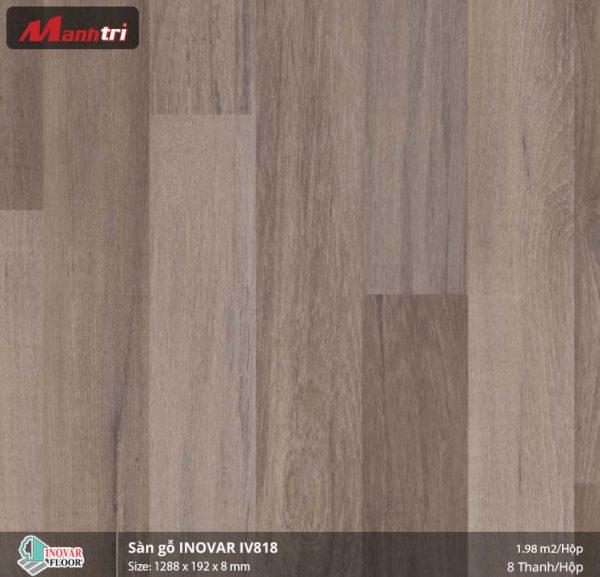 sàn gỗ Inovar IV818