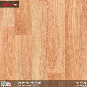 sàn gỗ Inovar MF380 hình 1