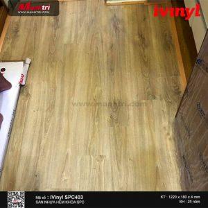 sàn nhựa iVinyl SPC 403