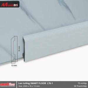 Len chân tường nhựa sàn gỗ L76-1