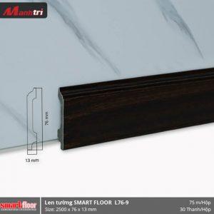 Len chân tường nhựa sàn gỗ L76-9