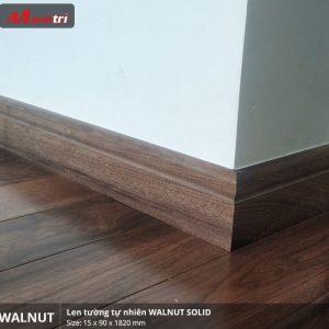 Len tường gỗ Walnut