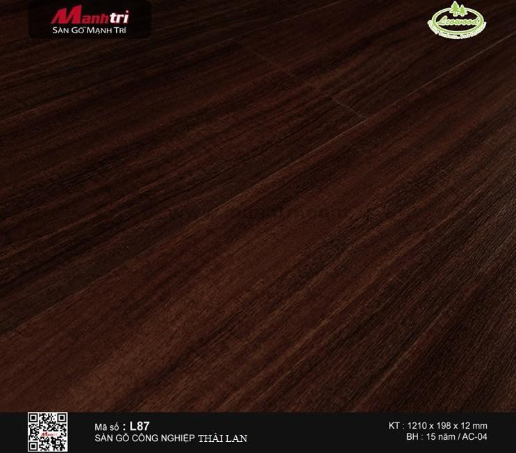 sàn gỗ công nghiệp Leowood L87