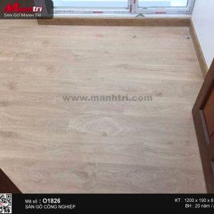 Ảnh thực tế sàn gỗ Pergo 01826