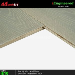 sàn gỗ kỹ thuật sồi cà xước ie10-3