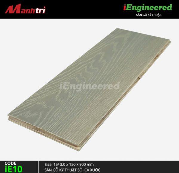 sàn gỗ kỹ thuật sồi cá xước ienginee ie10