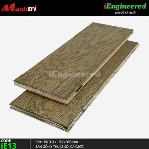 sàn gỗ kỹ thuật sồi cá xước ienginee ie13 b