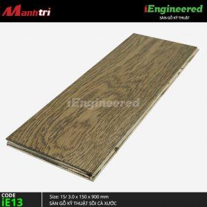 sàn gỗ kỹ thuật sồi cá xước ienginee ie13 c