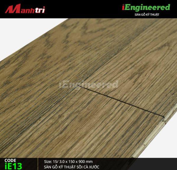 Sàn gỗ kỹ thuật cà xước ie13-4