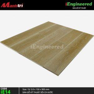 sàn gỗ kỹ thuật sồi cà xước ie14