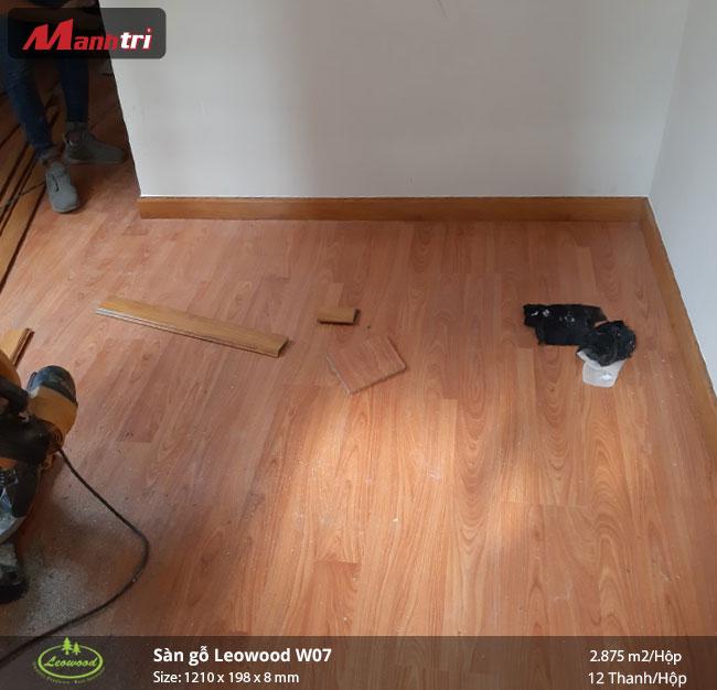 sàn gỗ Leowood W07 hình 2