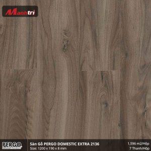 sàn gỗ pergo Domestic Extra 2136 hình 1